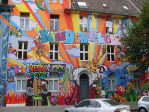 A house in Düsseldorf Germany